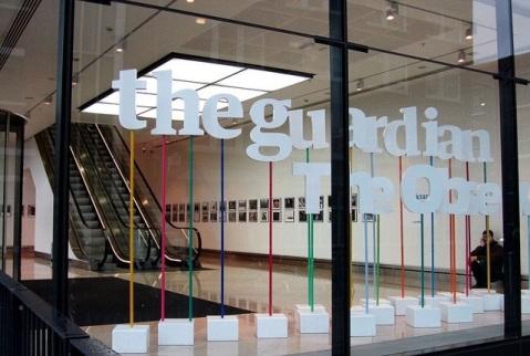 Servicio Secreto británico entra en las oficinas del diario The Guardian y destruye sus discos duros