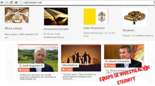 La otra web del grupo.Una radio de temática cristiana.