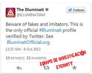 """""""El único perfil oficial de los Illuminati"""""""