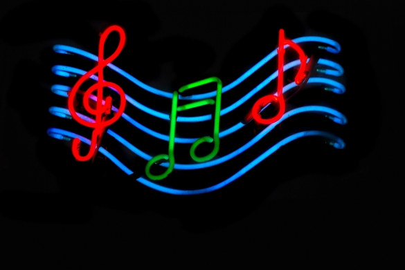 neon-music-notes